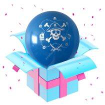 пират голубой