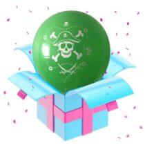 пират зеленый