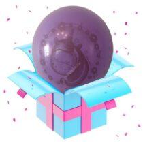 пони фиолет