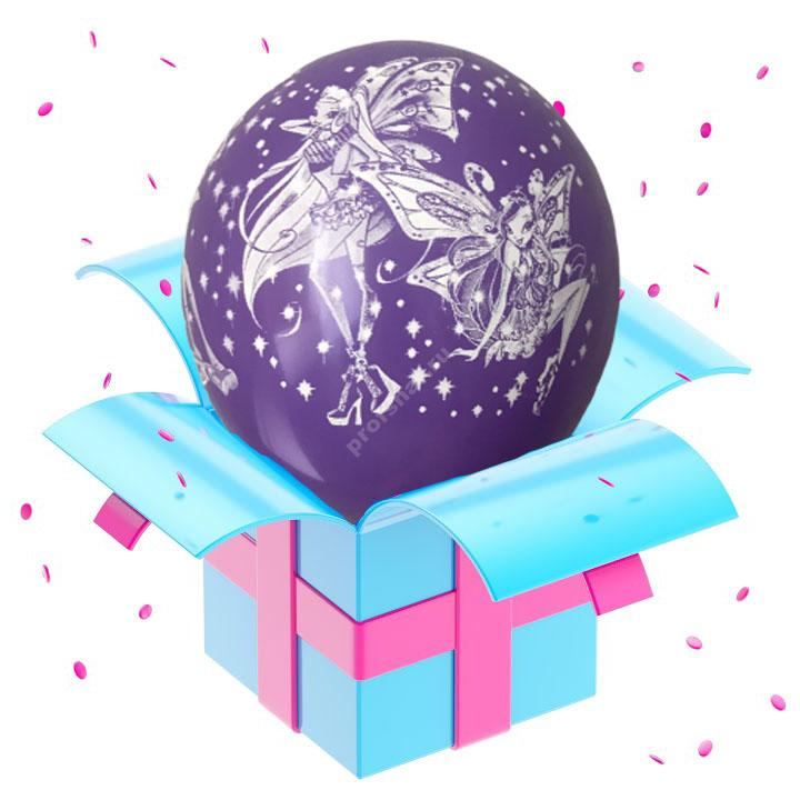 Шар феи Winx фиолетовый
