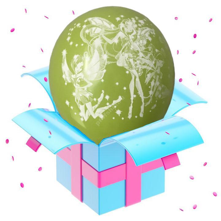Шар феи Winx светло-зеленый