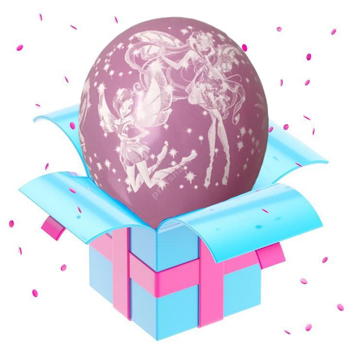 Шар феи Winx розовый