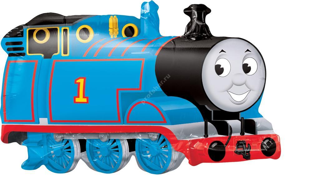 Фольгированный шар «Паровоз Томас»