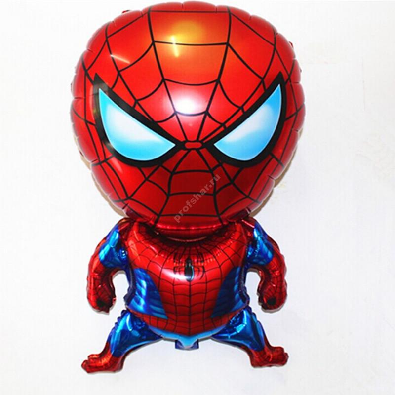 Фольгированный шар  «Человек Паук»