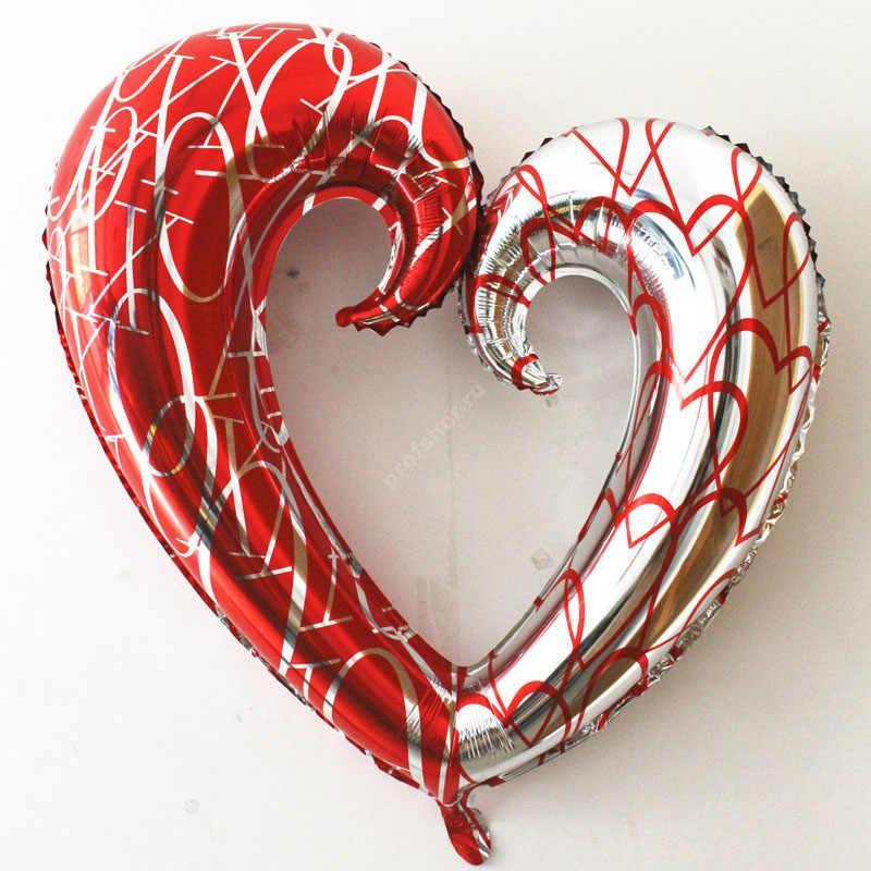 Шар фольгированный контур сердца