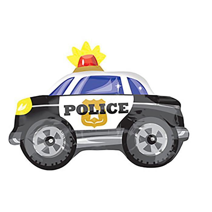 Фольгированный шар «Полицейская машина»