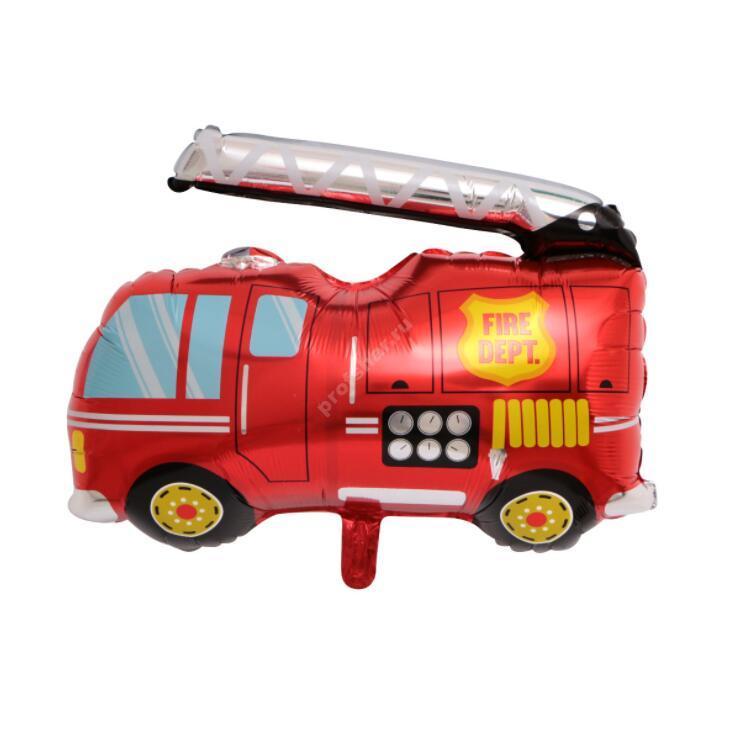 Фольгированный шар «Пожарная машина»