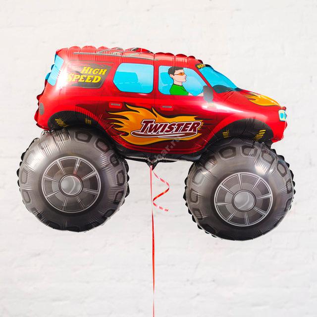 Фольгированный шар «Машина пикап»