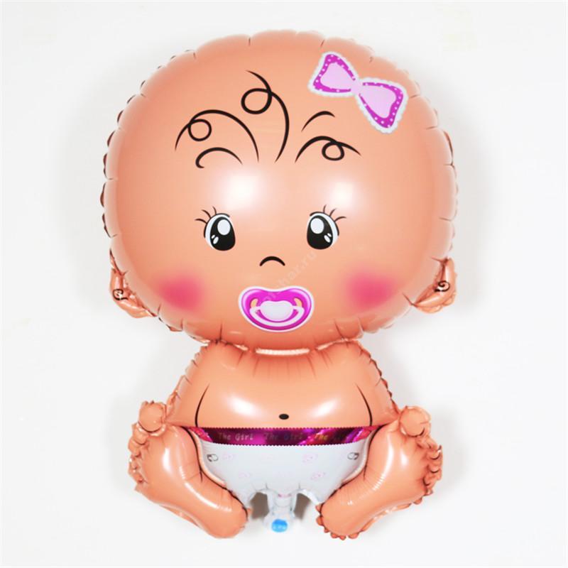 Фольгированный шар «малыш» девочка