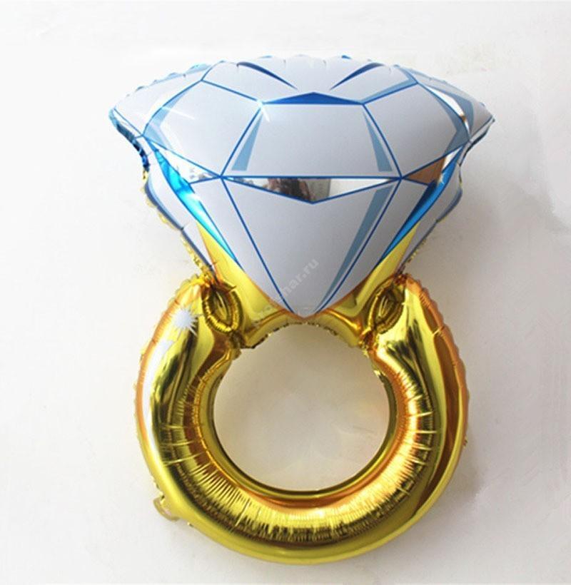 Шар фольгированный в форме кольца