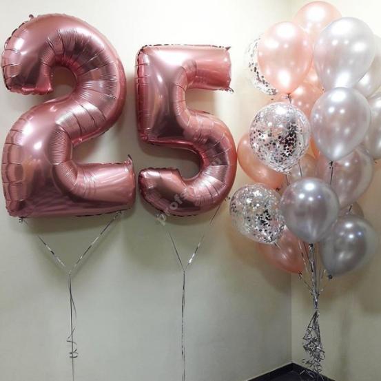 Композиция из шаров № 25