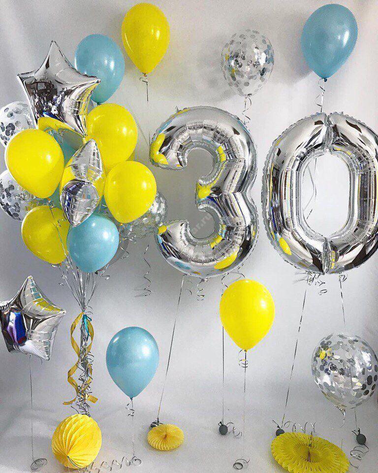 Композиция из шаров № 63