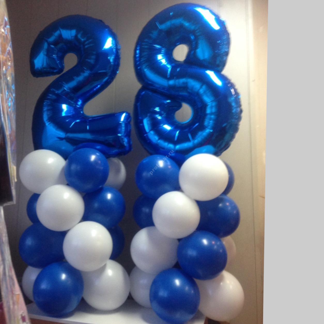Композиция из шаров № 52
